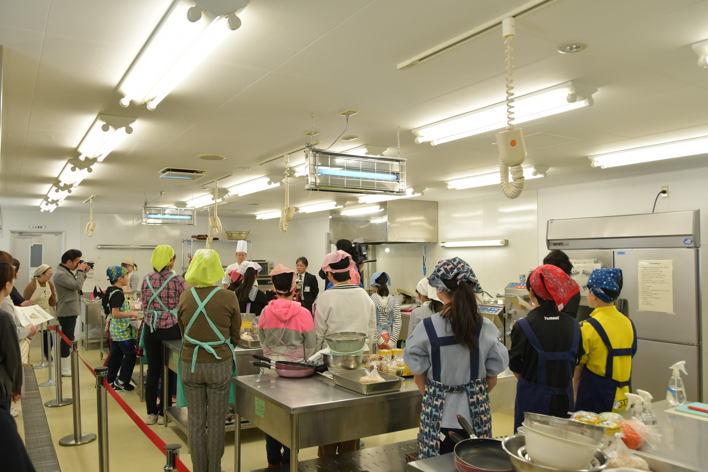 料理教室会場