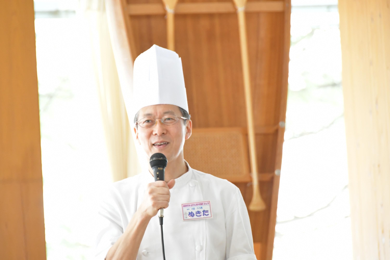 貫田シェフ